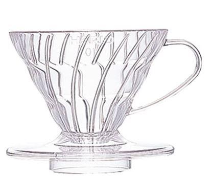 Εικόνα της V60 Coffee Dripper 01 Clear Plastic