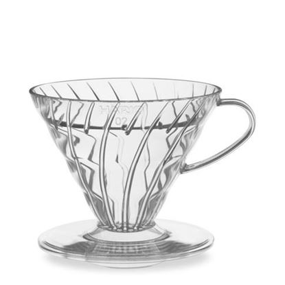 Εικόνα της V60 Coffee Dripper 02 Clear Plastic