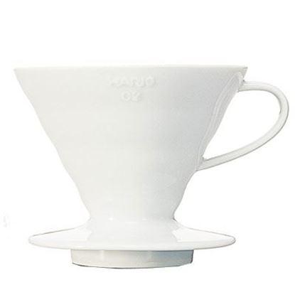 Εικόνα της V60 Coffee Dripper 02 White Ceramic