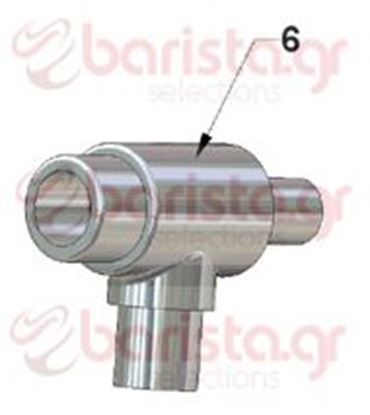 Picture of Vibiemme Domobar Junior Taps  - Water/Steam Tap Body