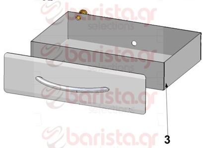 Picture of Vibiemme Domobar Super Bodywork -  Steel Drawer