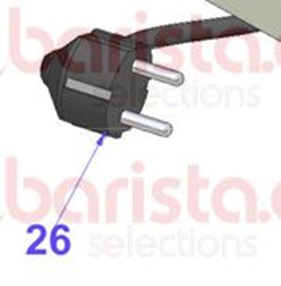 Εικόνα της Vibiemme Domobar Super Electronic - 3X1 L.2000 Schuko Cable