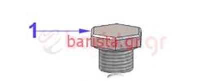 Εικόνα της Vibiemme Domobar Super Grouphead Cap for Upper Lock