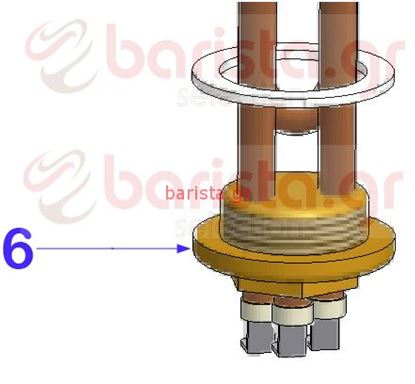 Εικόνα της Vibiemme Domobar Super Pid Coffee Boiler Heating Element
