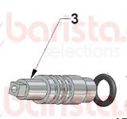 Picture of Vibiemme Domobar Super Taps - Junior Inox Rod Tap