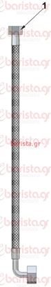 Picture of Vibiemme Lollo 2Gr Motor pump - Long Inox Flexible Tube For Pump