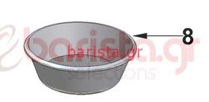 Εικόνα της Vibiemme Lollo Filterholder - Low Filter - 2 Cups