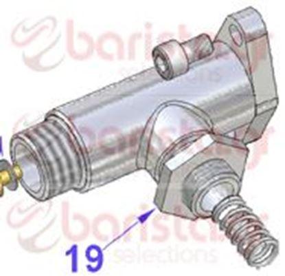 Εικόνα της Vibiemme Replica 2 Group 2 Boiler Pid Steam Tap 3/8 Chromed Nut