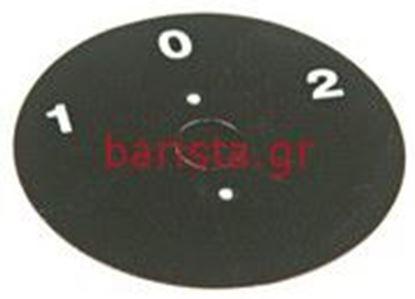 Picture of Wega Venus Electric Components 0 - 1 - 2 Round Sticker