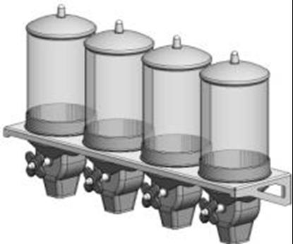 Picture of 4 x 4 Λίτρα Διανεμητής Τροφίμων