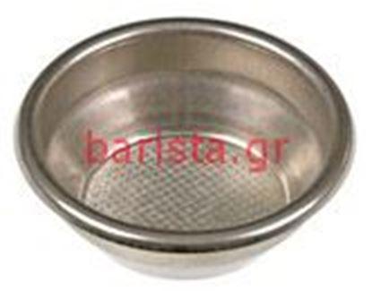 Εικόνα της Wega φίλτροholders (1) 14gr. 2 Cups φίλτρο Aisi304