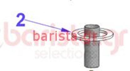 Εικόνα της Vibiemme Replica 2 Group 2 Boiler Pid Grouphead Cap Gaskets For Group Lock