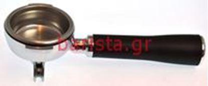 Picture of Ascaso Fixed / Prof / Capsule Filterholders -04/2012 2 Coffees Prof Filterholder Whole