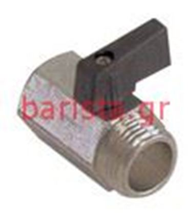 Picture of San Marco  Ns-85/europe-95/sprint/golden Coffee Inlet Tap-retention Valve 1/4fx1/4m Closing Tap