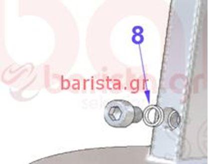 Picture of Vibiemme Domobar Super Grouphead Teflon Washer D.6
