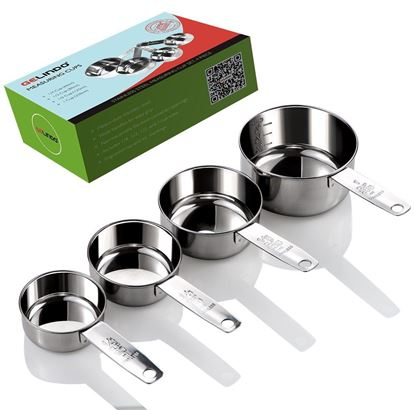gelindo inox measuring cups