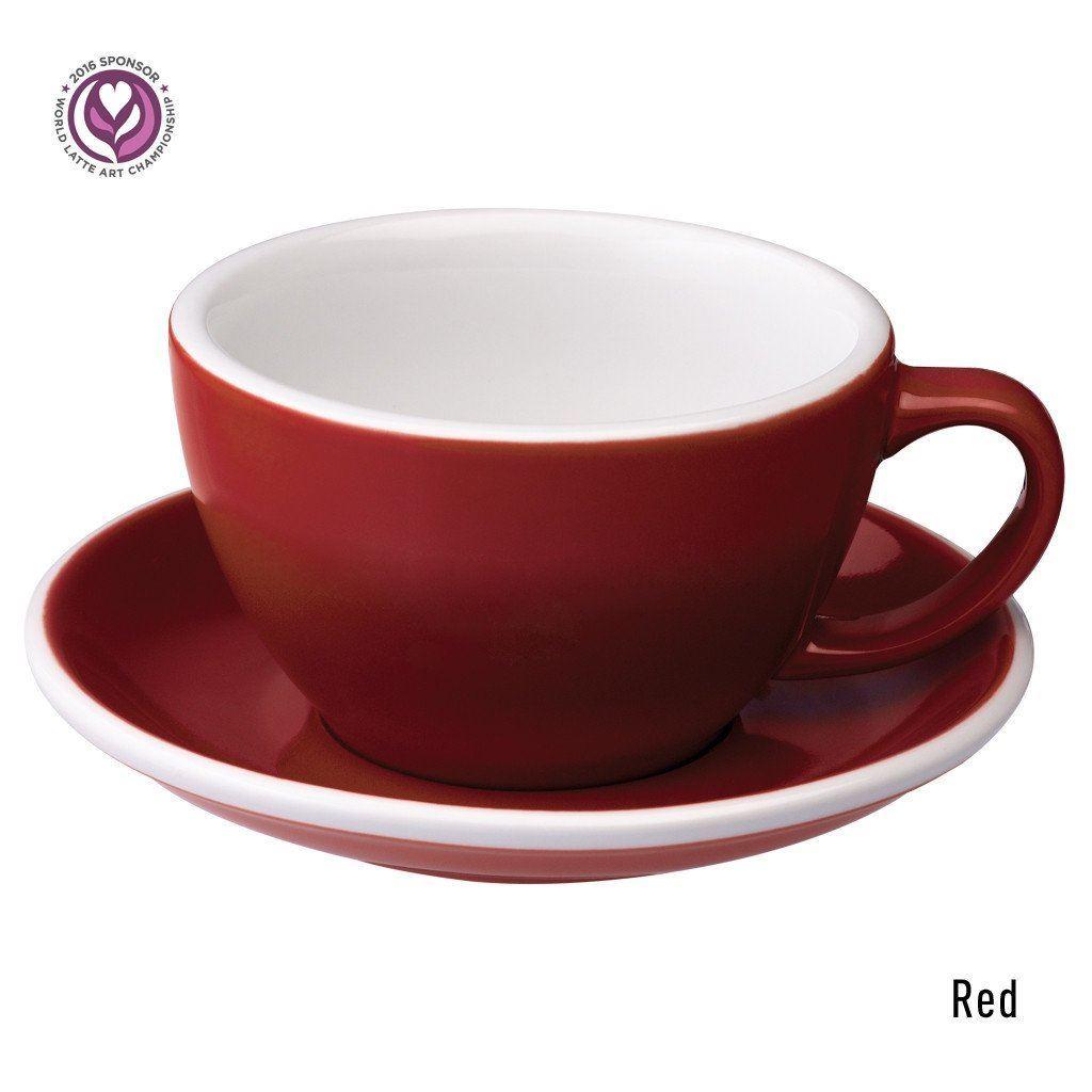 Loveramics Egg 300ml Caf 233 Latte Cup Amp Saucer Barista Eshop