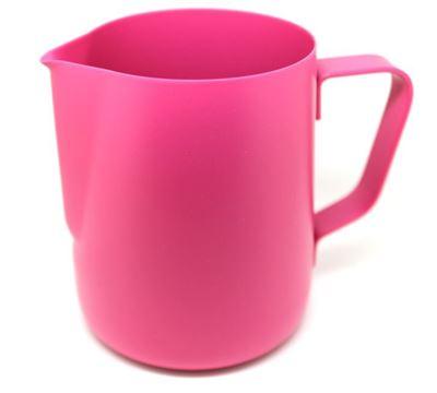 milk jug 350ml pink color