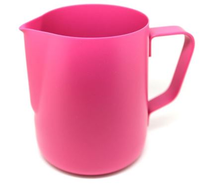 milk jug 350ml pink color