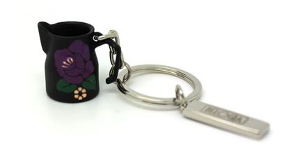 Key Ring milk Jug black