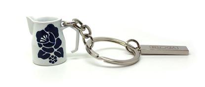 Key Ring milk Jug White