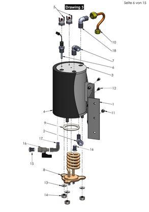 Εικόνα της Heating Element Boiler 1000W 110V