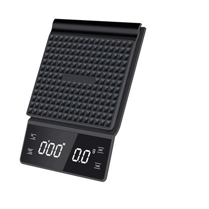 Coffee Scale 3kg with Timer Digital Touch back-lit LED Display