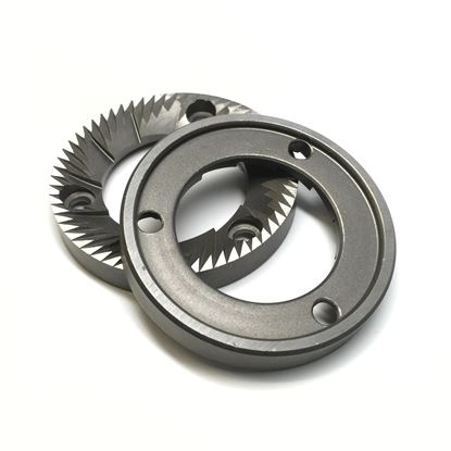 GRINDING BURRS PAIR ROSSI-ASTRAL LH