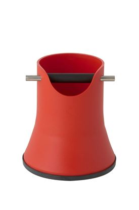 Knock Box Red color H.175mm height