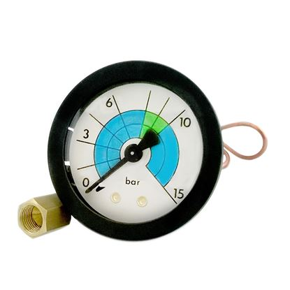 VIBIEMME MANOMETER 0-15 BAR WITH CAPILLARY