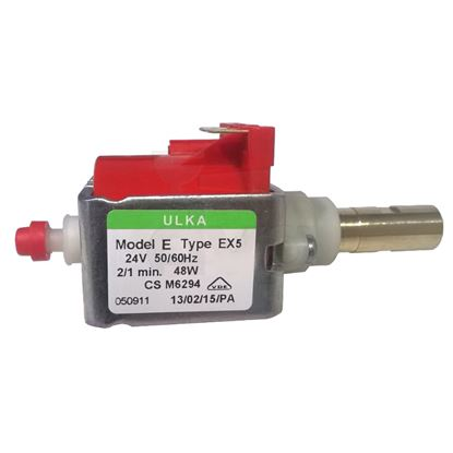 ULKA VIBRATION PUMP EX5 24V 50/60Hz BRASS OUTLET