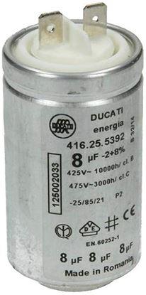 Capacitor Ducati Energia 8µF UF 450V