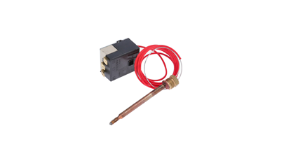 SINGLEPHASE THERMOSTAT 3 CONNECTIONS - SCREW REGULATION - BULB O 6,5x90mm VBM
