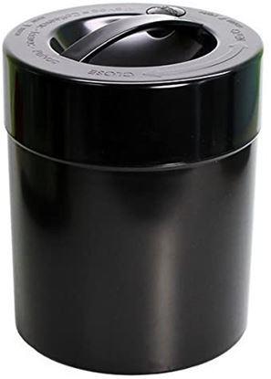 KiloVac 3,8 liter Solid black body, Black cap