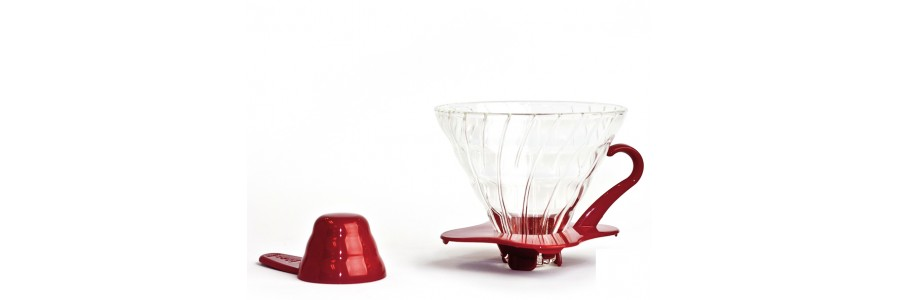 hario v60 01 red glass